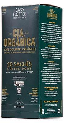 Cia. Orgânica – Café Orgânico Sachés